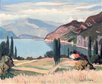 lac du bourget by julien bouvier