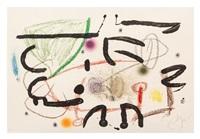 untitled (from maravillas con variaciones acrosticas en el jardin de miro) by joan miró