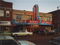bay theater, 2nd street, ashland, wisconsin, july 9 by stephen shore