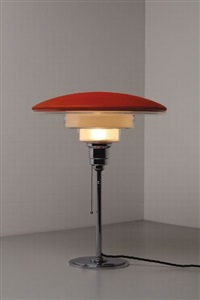 megaphos table lamp by c.f. otto müller