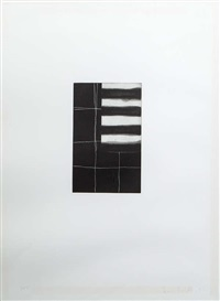 night piece (pomes penny each series) by sean scully