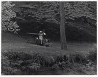 couple in prospect park by roy decarava