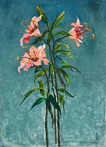 lillies by john alexander