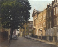 cheyne row, london by nelson bamer