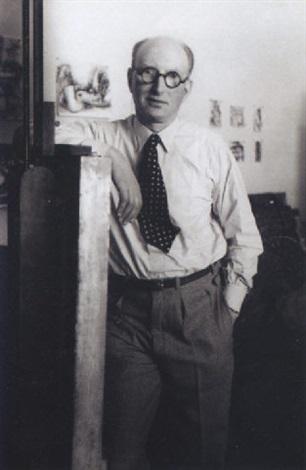 portrait de marcel gromaire by rogi andré