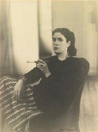 dora maar with cigarette by rogi andré