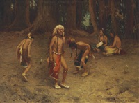 the war dance by eanger irving couse