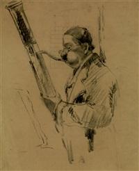 joueur de basson by louis azema