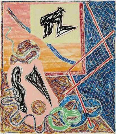 shards i by frank stella