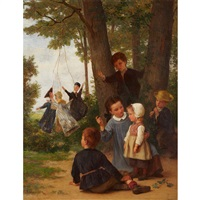 the puppet show (playmates) by théophile emmanuel duverger