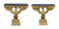 console tables (pair) by william kent