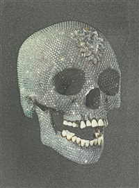 for the love of god, laugh by damien hirst