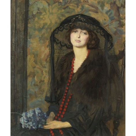 the red necklace by philip leslie hale