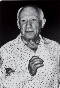 picasso as he is by weegee
