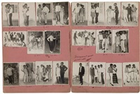 les intimes (set of 22) by malick sidibé
