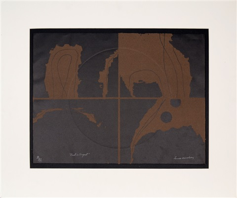 dusk in august by louise nevelson