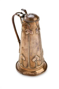 lidded flagon by harold stabler