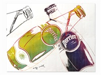 perrier blanc by andy warhol