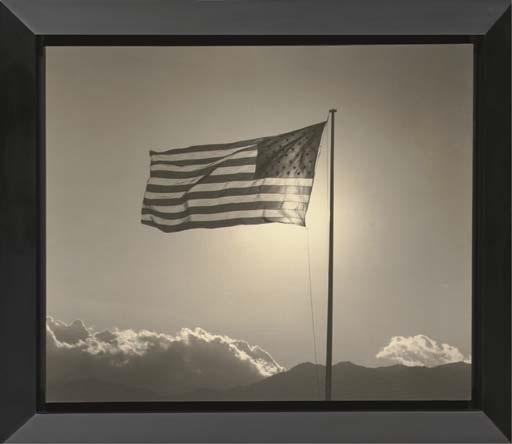 american flag by robert mapplethorpe