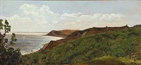 klippeparti fra bornholm by carl frederik peder aagaard