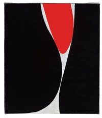 untitled (boulder series) by lorser feitelson