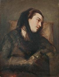 mélancolie by nicolas françois octave tassaert