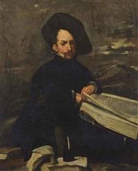 portrait of the jester diego de acedo, called el primo by diego rodríguez de silva y velásquez