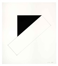 series of seven lithographs (set of 7) by ellsworth kelly