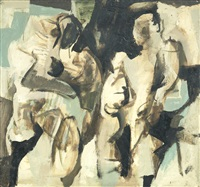 two figures by anthony whishaw