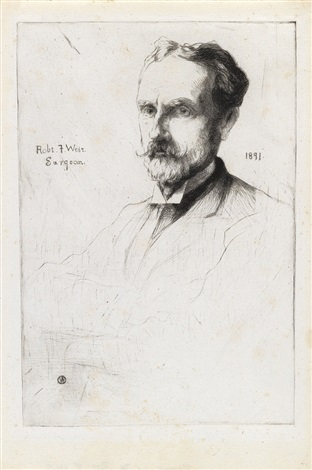 julian alden weir portrait of dr robert f weir julian alden weir by julian alden weir