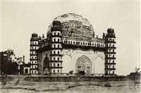mosques in bijapur (2 works) by thomas biggs