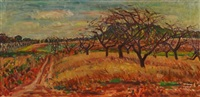 cherry orchard by louis ritman