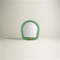 table mirror, model 76 by carlo scarpa