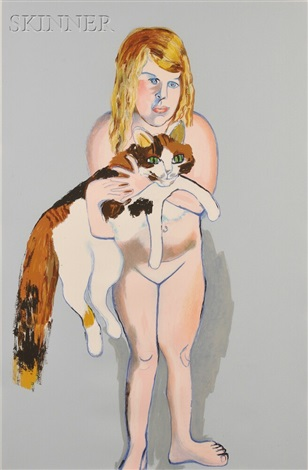 victoria and cat by alice neel