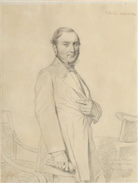 le docteur norbert hache by jean-auguste-dominique ingres