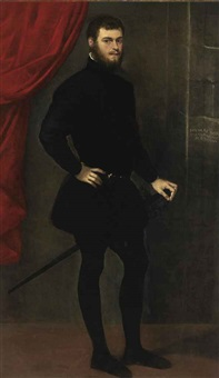 portrait of nicolò doria by jacopo robusti tintoretto