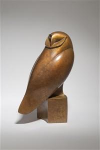 barn owl i by robert aberdein