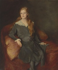 portrait of mary callery by lydia field emmet