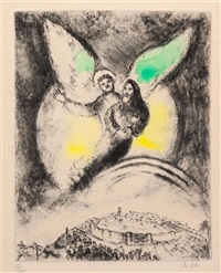 l'éternel aura pitié de jacob (from bible) by marc chagall