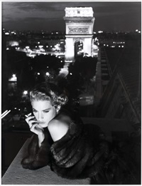 lisa kauffmann, paris by albert watson