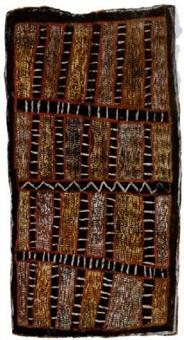 pukumani design by micky geranium warlpinni