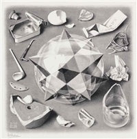 order and chaos i by m. c. escher