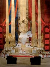 projet de monument pour victor hugo by pierre jean guth