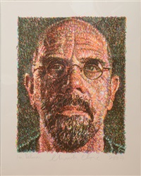 self/lincoln center/list art forty-fifth anniversary by chuck close