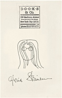 self-portrait by gloria steinem