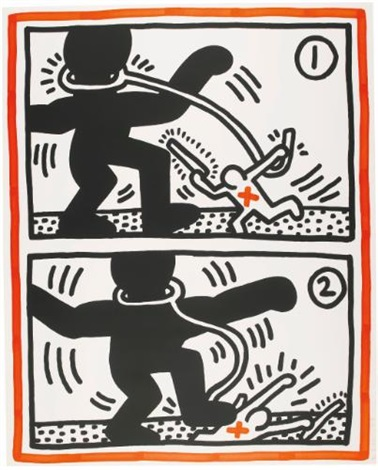 untitled 2 by keith haring