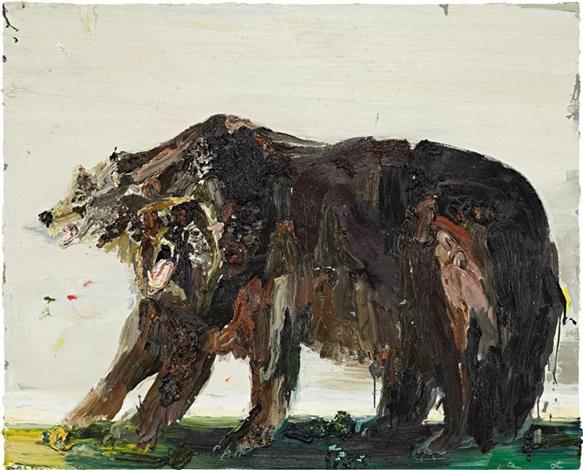 bear by allison schulnik