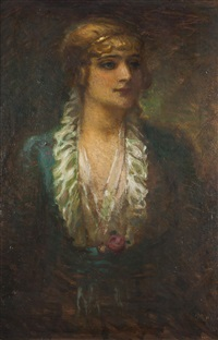 porträt der růžena nasková by frantisek naske