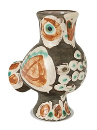 wood-owl by pablo picasso