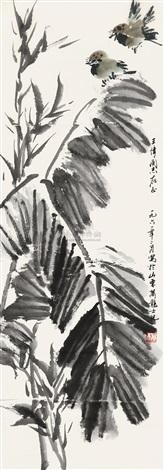 花鸟 flowerand birds by xiao longshi